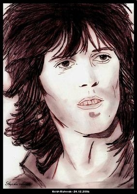 Keith Richards por RaiRuri